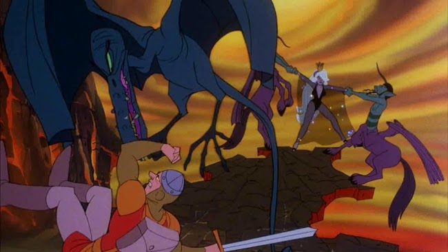 Dragon's Lair 2: Time Warp- screenshot