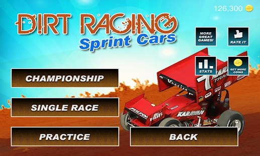 Sprint Car Dirt Racing Game- screenshot thumbnail
