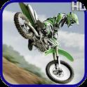 motocross rider return puzzle icon