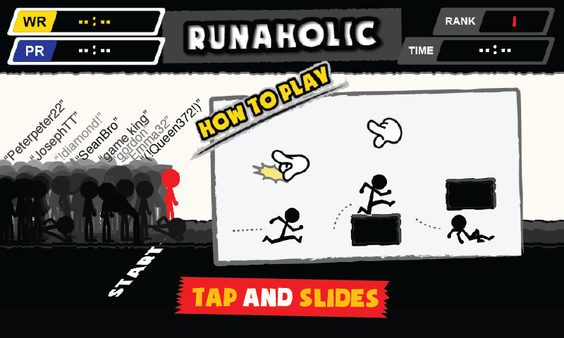 Runaholic- screenshot