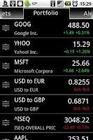 Screenshot of Stock Alert