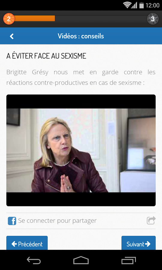 Leadership Pour Elles- screenshot