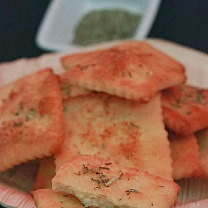 Rosemary Savory Crackers