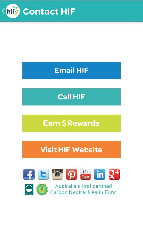 HIF SmartClaim- screenshot