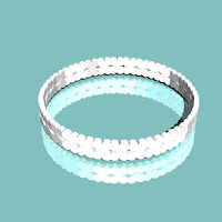 m-baby dual heart ring  指輪 9号
