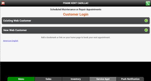 【免費商業App】Frank Kent Cadillac-APP點子