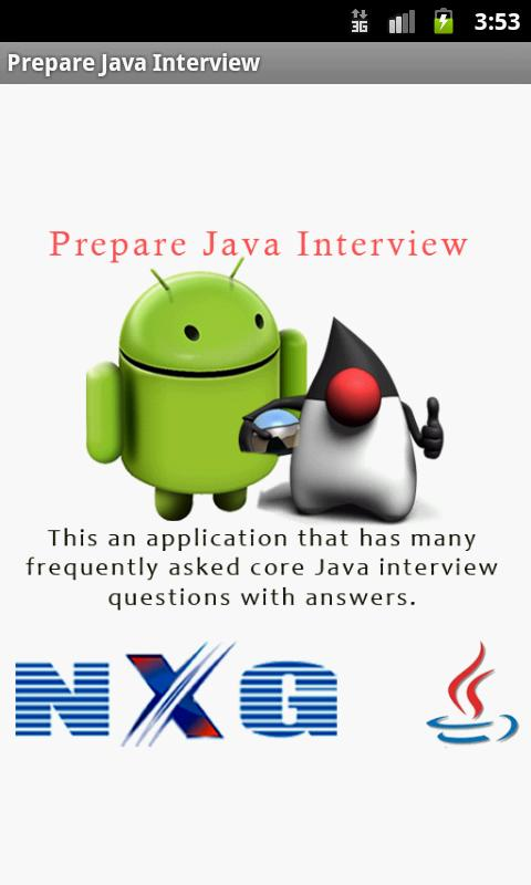 Prepare Java Interview - screenshot