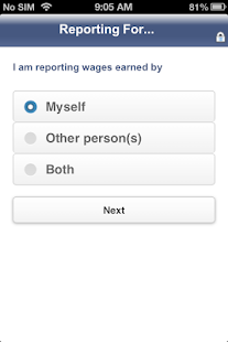 SSI Mobile Wage Reporting - screenshot thumbnail