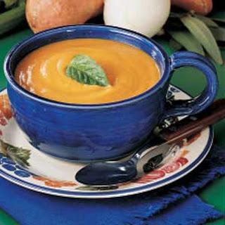 Harvest Sweet Potato Soup.