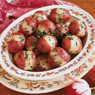 Norwegian Parsley Potatoes.
