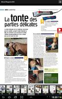 Screenshot of Cheval magazine