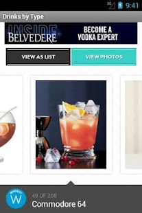 FOOD & WINE Cocktails - screenshot thumbnail