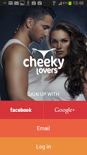 CheekyLovers Online Dating App - screenshot thumbnail