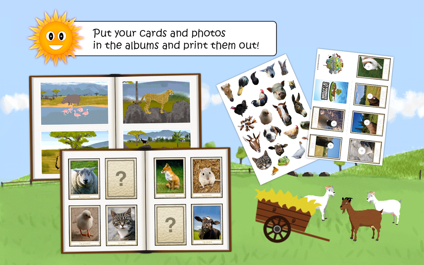 wildlife & farm animal for kid- screenshot