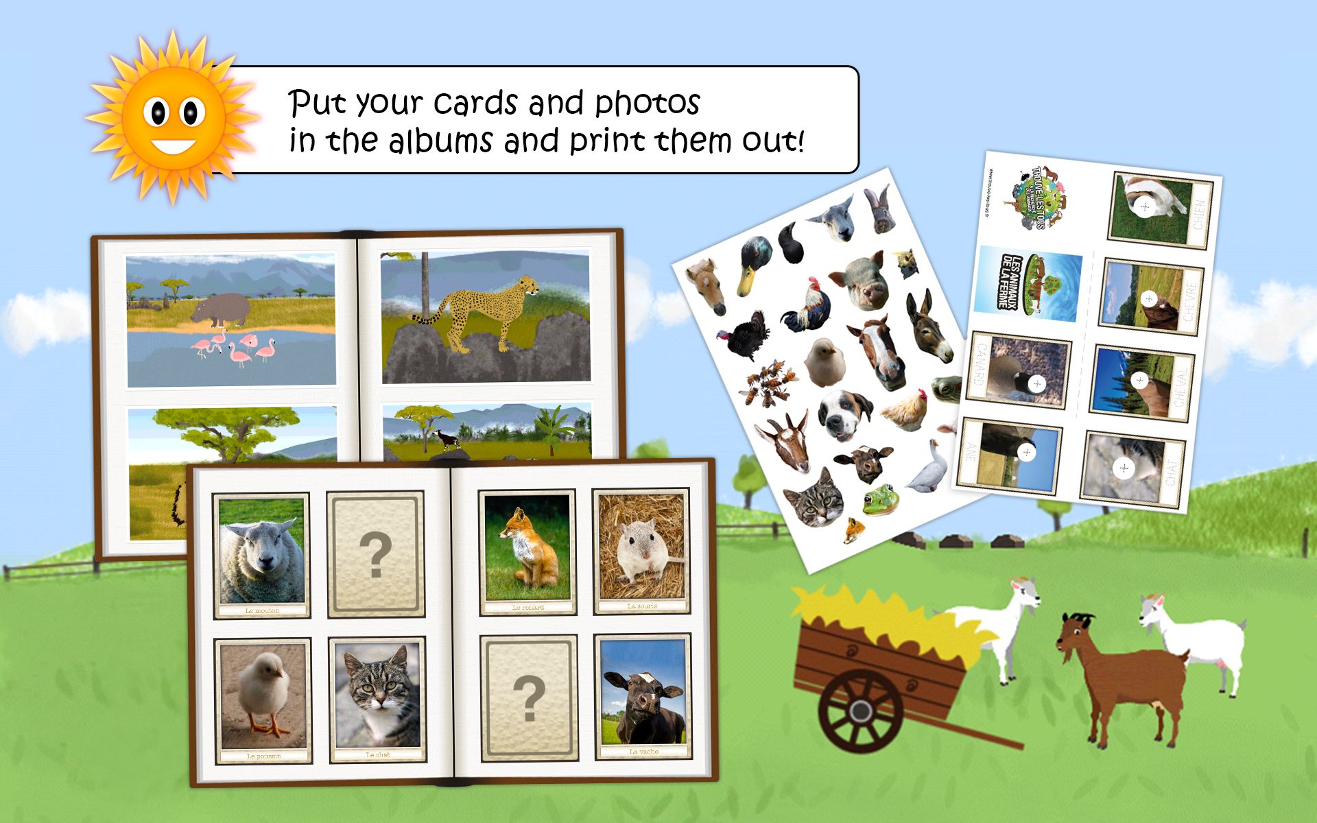 wildlife & farm animal for kid screenshot #10