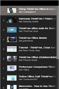 ThinkFree Office Tutorial
