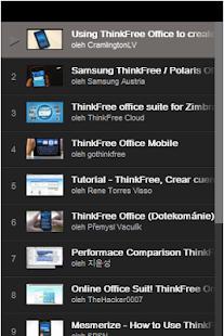 ThinkFree Office Tutorial