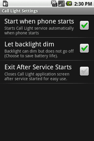 Call Light - screenshot