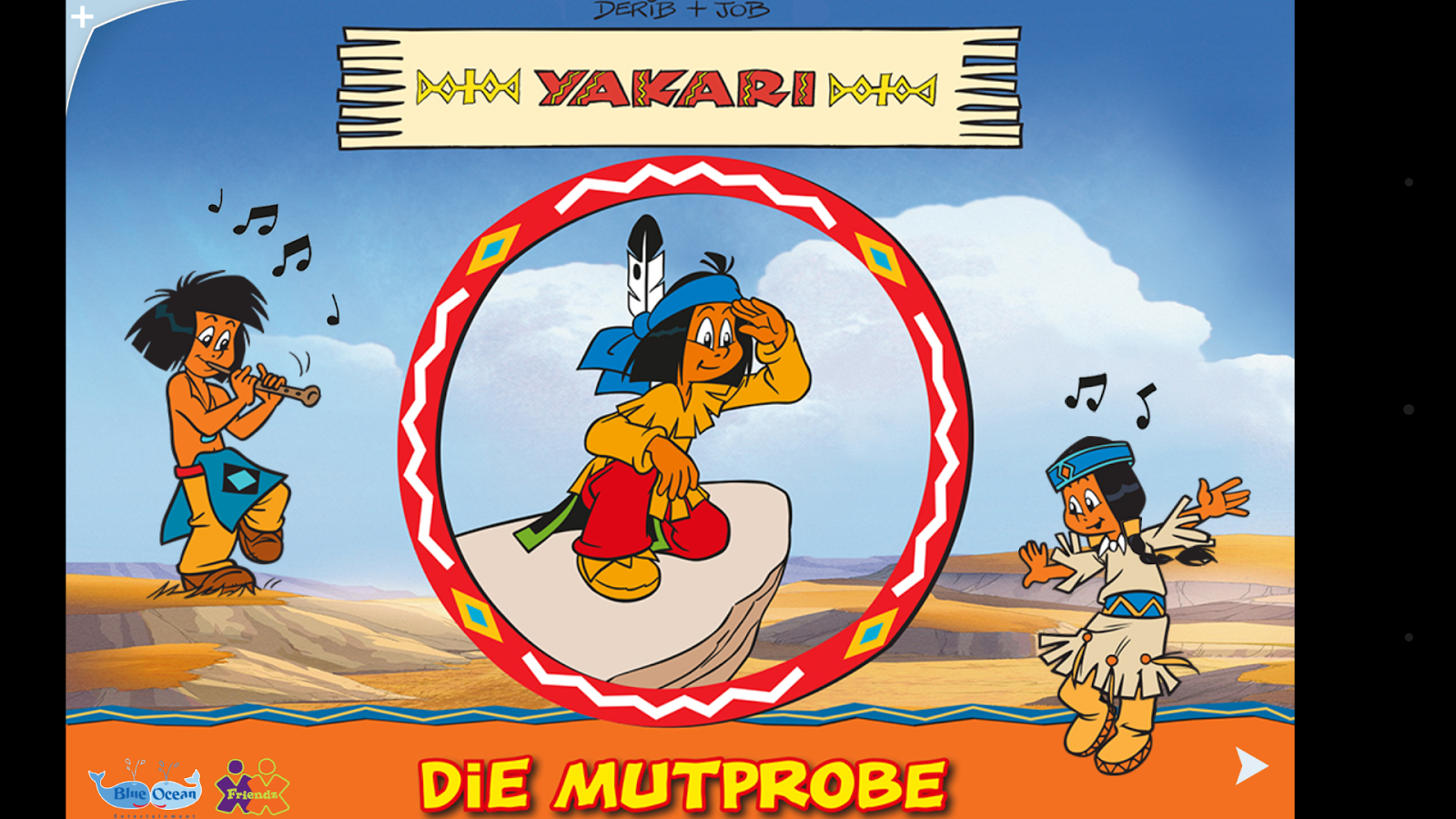 Yakari. Die Mutprobe – Screenshot