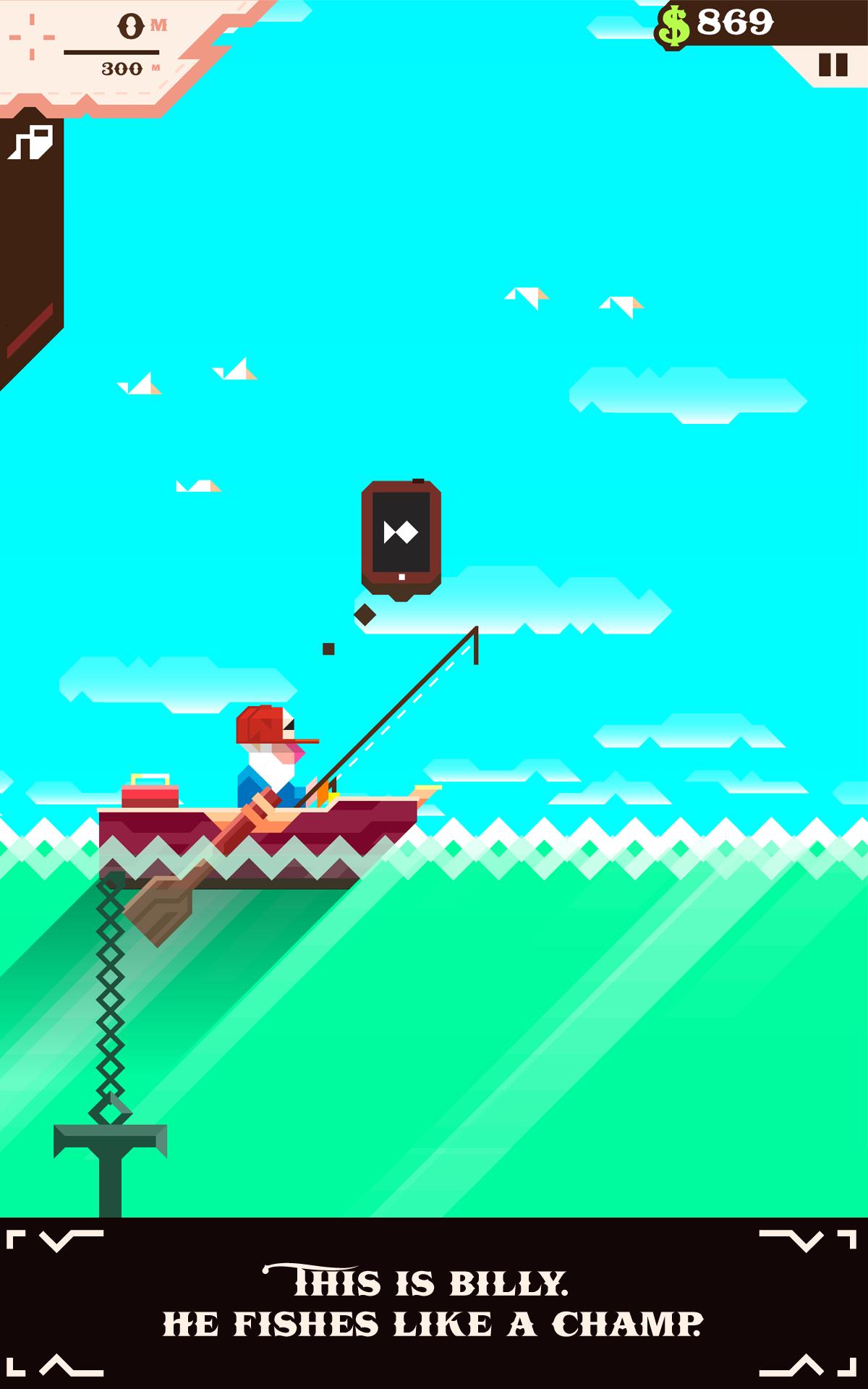 Ridiculous Fishing screenshot #6