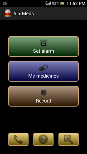 AlarMeds alarm pill reminder