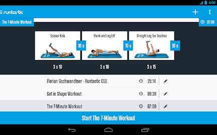 Runtastic Six Pack Abs Workout Screenshot 28