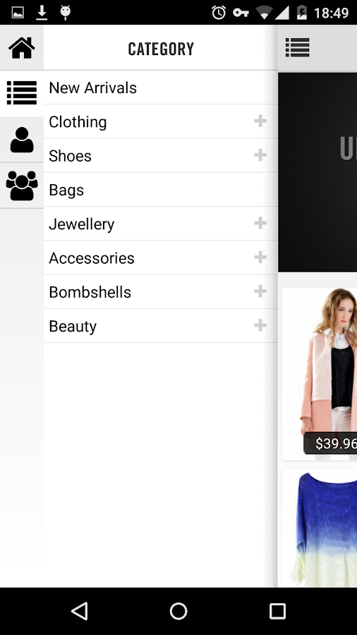 OASAP Mobile Shopping- screenshot