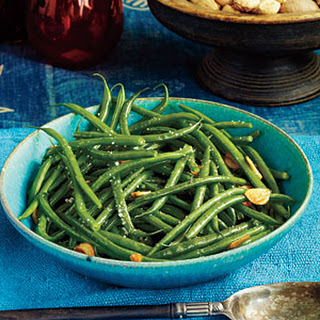 Green Beans with Garlic.