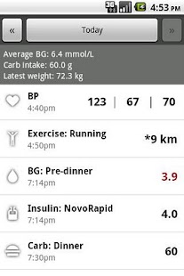 Glucool Diabetes Premium- screenshot thumbnail
