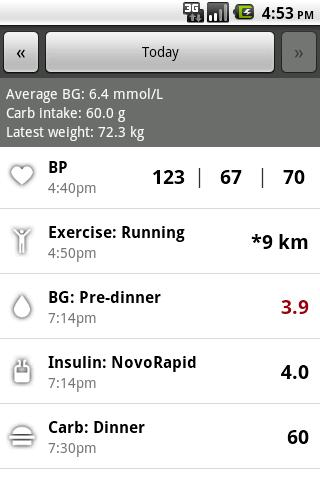 Glucool Diabetes Premium- screenshot