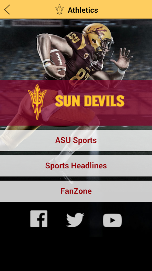 Arizona State University - screenshot