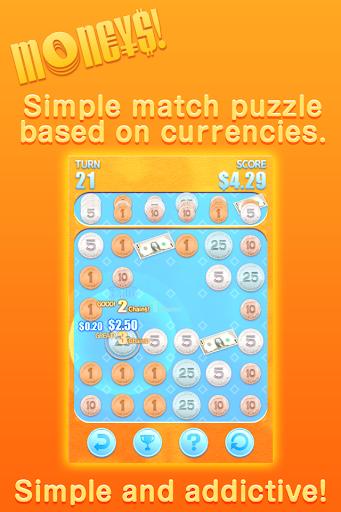 MON€¥$ - Money Match Puzzle -