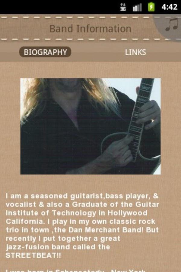 Dan Merchant Solo Jazz - screenshot