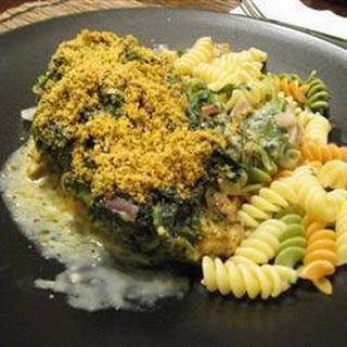 Parmesan Chicken with Spinach Recipe