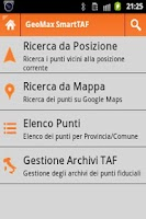 Screenshot of GeoMax FreeTAF