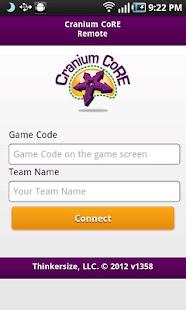Cranium CoRE Remote- screenshot thumbnail
