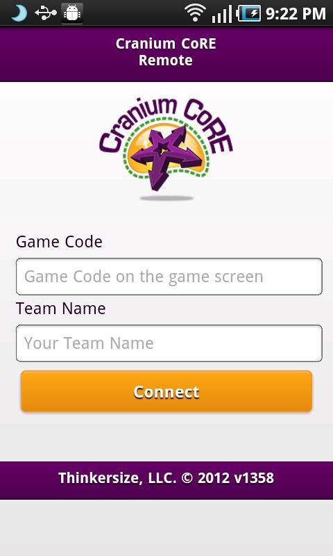 Cranium CoRE Remote- screenshot