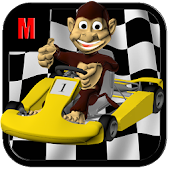 Monkey Madness Kart Racing