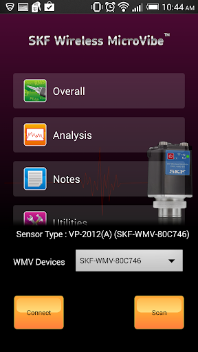 SKF Wireless MicroVibe