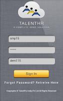 Screenshot of TalentHR