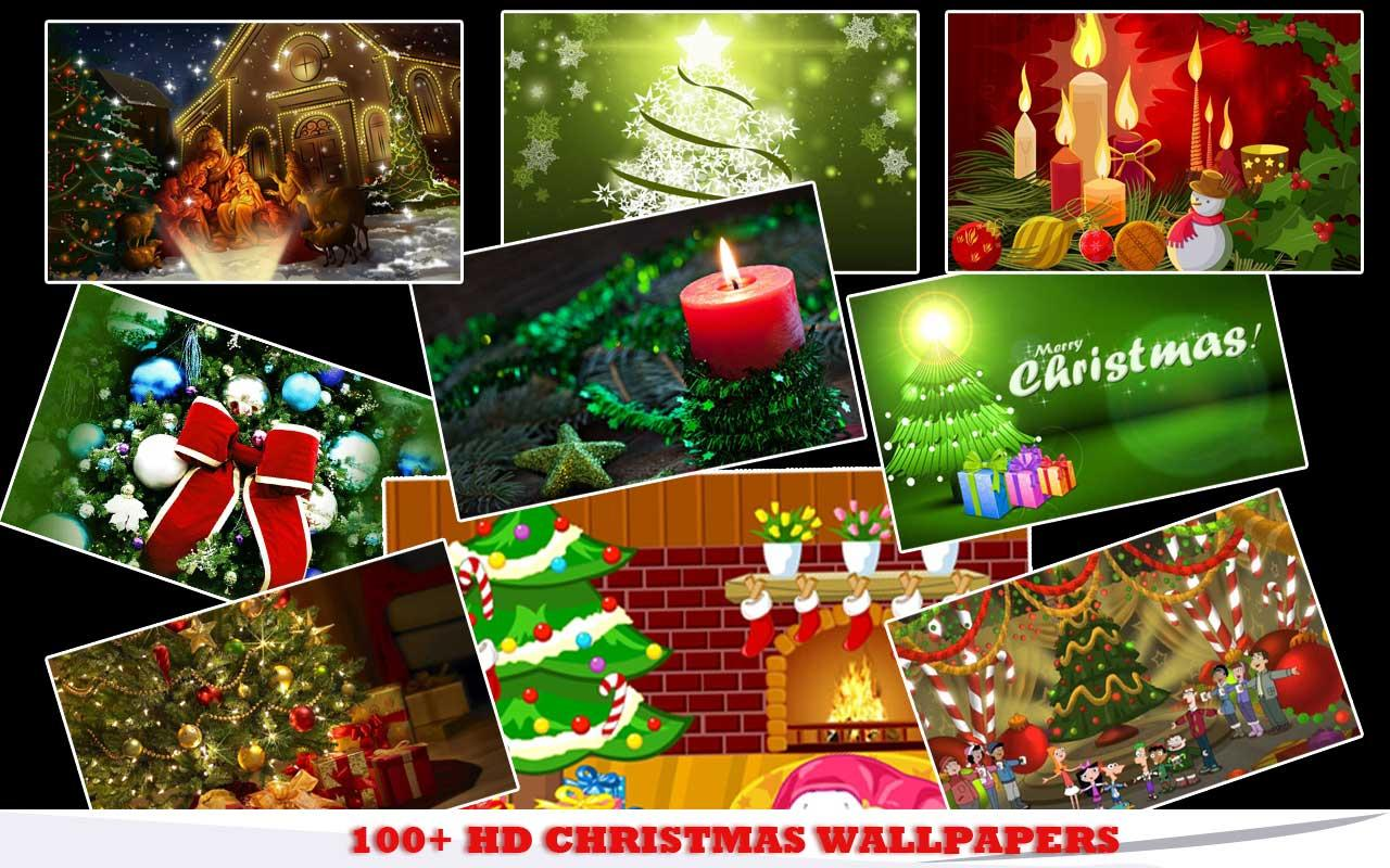 Christmas HD WallpaperShuffler - screenshot