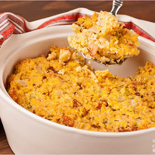 Savory Corn Bread Stuffing.