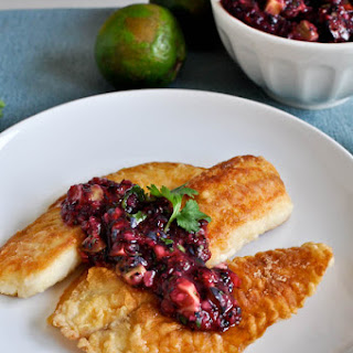 Crispy Honey Lime Tilapia.
