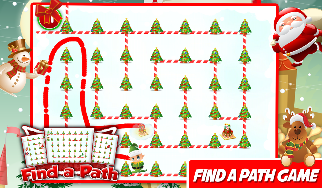 Christmas Games Puzzle For Kid- screenshot