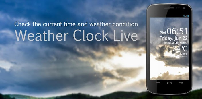 Weather Clock Live apk