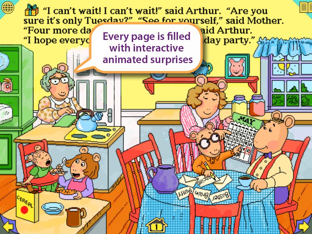 arthur u0027s birthday android apps on google play