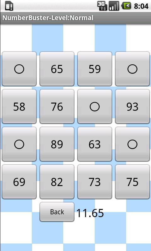 NumberBuster- screenshot