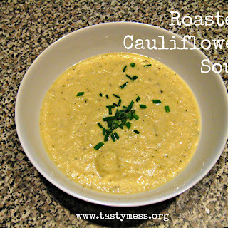 Roasted Cauliflower Soup.