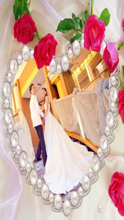 Wedding Love Photo Frame- screenshot