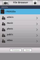 Screenshot of zMedia